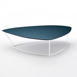Tavolino Large in cuoio -...