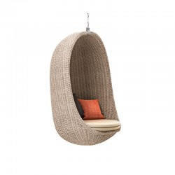 Suspended armchair in...