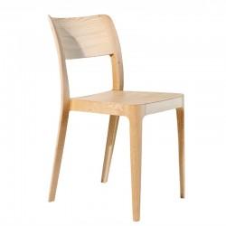Sedia impilabile in legno - Nenè
