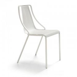 Stackable metal chair - Ola