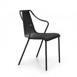 Sedia in acciaio per interno/esterno - Ola