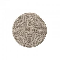 Outdoor round carpet -...