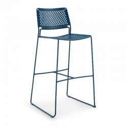 Stackable steel stool H66/H76- Slim