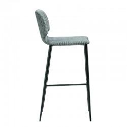 Padded stool H.65/75 cm - Wrap