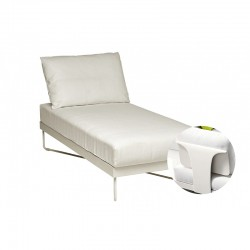 Outdoor Chaise lounge whit...