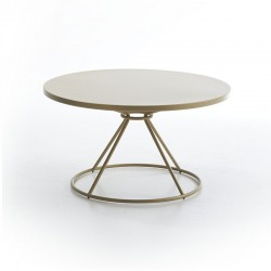 Gravity round coffee table...