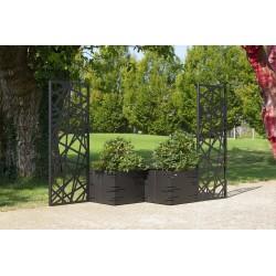 Frangi Potter modular planter with sunblind