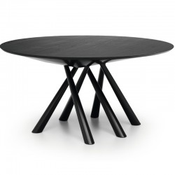 Round/oval wooden table - Forest