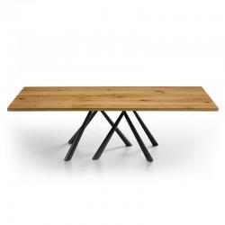 Tavolo rettangolare legno massello -Forest