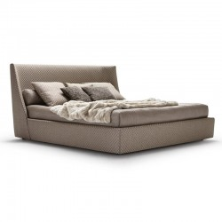 Vivien bed in fabric or leather