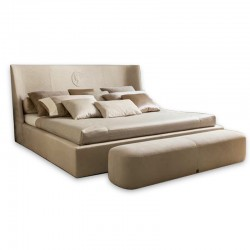 Vivien Royal bed in leather...