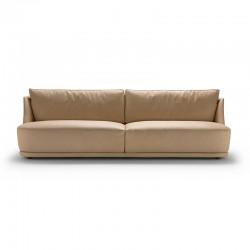 Vivien sofa in fabric or...
