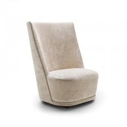 Vivien armchair with high...