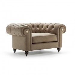 Chesterfield armchair in...