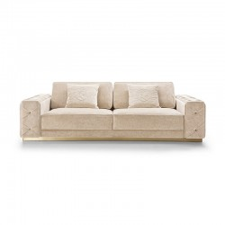 Tracy sofa in fabric or...