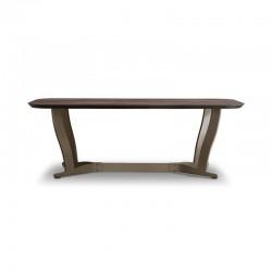 Humphrey metal dining table...