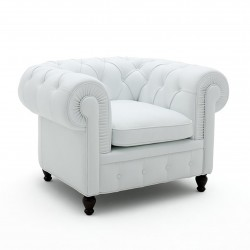 Chester leather armchair
