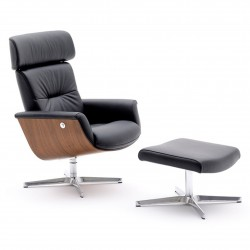 Reclining armchair w/footrest - Evolution