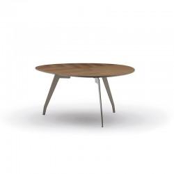 Tavolino in legno e metallo...