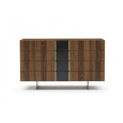 Malay wood chest of drawers...