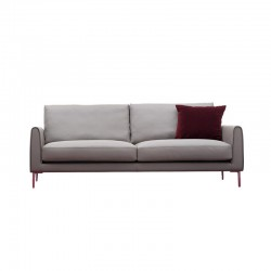 Sofa in fabric or leather -...