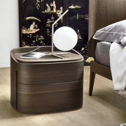 Wood bedside table - Babila