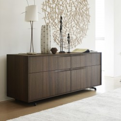 Sideboard Sangiacomo with metal feet - Vela