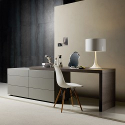 Valeo 3 drawers with desk on top