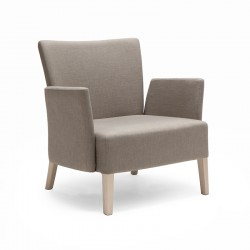 Noblesse lounge armchair with armrests