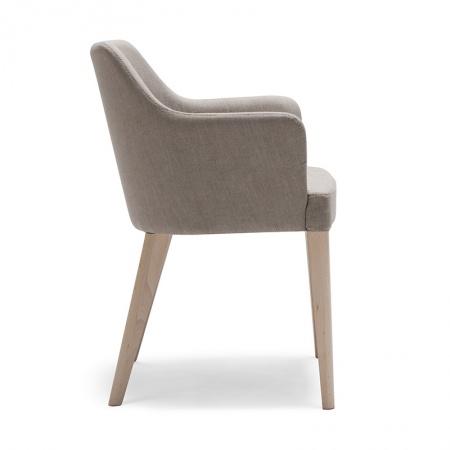 Padded armchair - Oscar