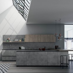 Industrial modular kitchen
