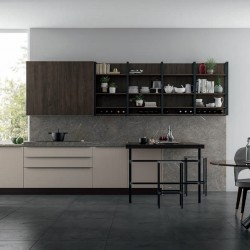 Modern modular kitchen -...