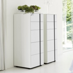 Chest of drawers with 5...
