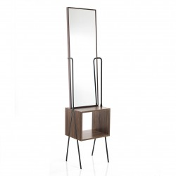 Floor mirror with storage...