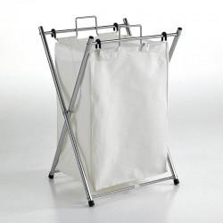 Folding laundry basket in...
