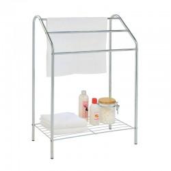 Towel holder with shelf
