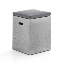 Pouf - stool in cement...