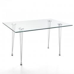 Writing desk in metal...