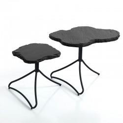 2 tavolini - comodini in...