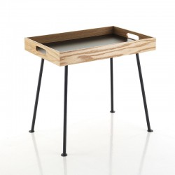 Coffee table with tray