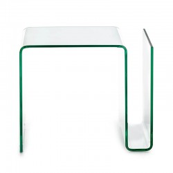 Side glass table with...
