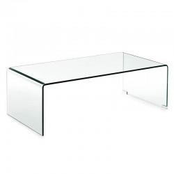 Tavolino salotto in vetro