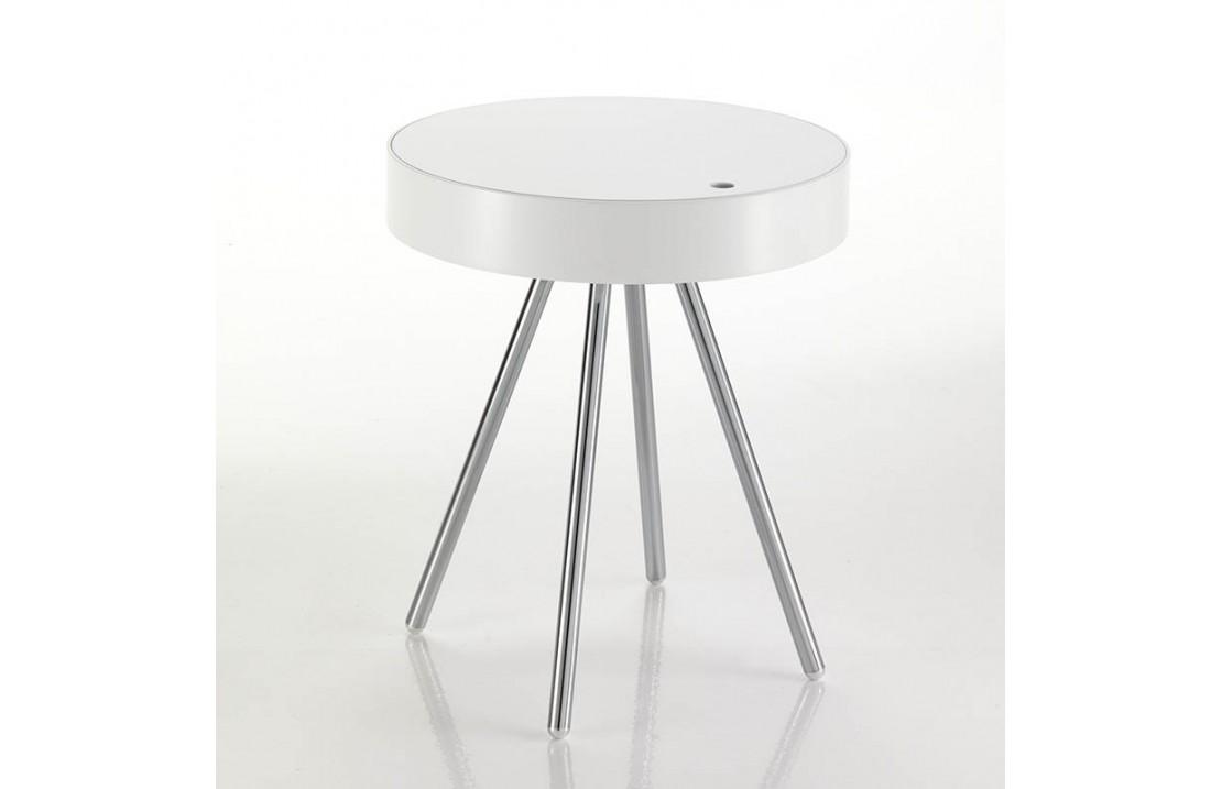 Tavolino Da Salotto In Legno Laccato Con Contenitore Isa Project
