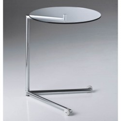 Glass service low table...