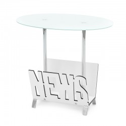 Coffee table in glass with...