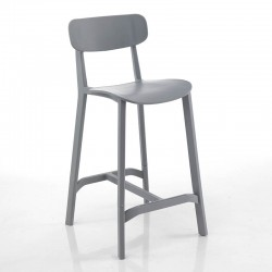 Stool in colored polypropylene