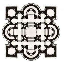 Pietro tappeto stampato