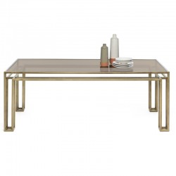 Dining table with glass top - Hotline