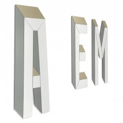 Letteronza mirror with...