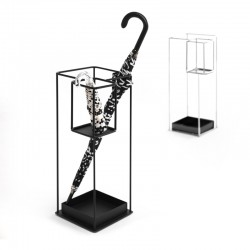 Duo metal umbrella stand